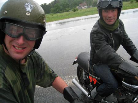 Ton-up Stockholm Applebee Speed Trophy 2008 - Micke och Kalle