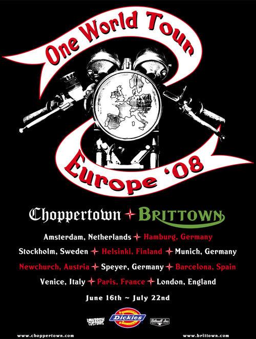 Brittown - One World Tour 2008