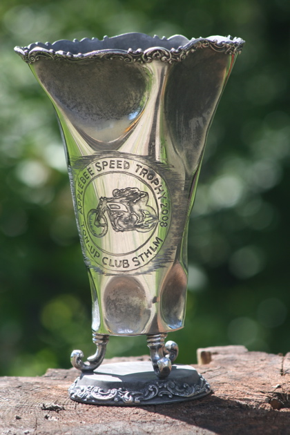 Ton-up Stockholm Applebee Speed Trophy - The Trophy!