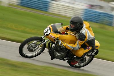 Urban Engström racing Honda 172CC 2008