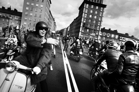Rockers vs Mods Stockholm 2010. Foto: Beatrice Lundborg